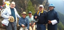 Bhutan Yuden Tour's first group of visitors